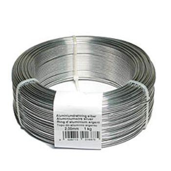 Aluminiumdraht, Basteldraht in silber, 1,5mm, 2mm, 3mm, 5mm, 4 Lä bei Shophaus 24
