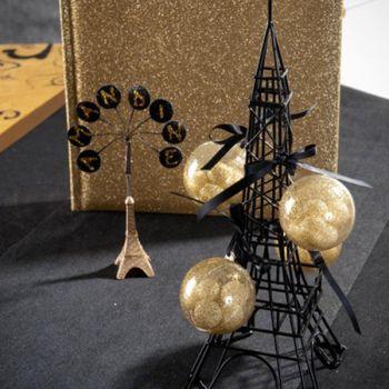 Kartenhalter eiffelturm dekoration paris frankreich 2 st ck for Frankreich dekoration