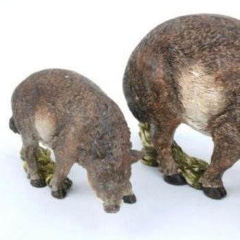Wildschwein deko figur j ger und herbst dekoration for Herbst dekoartikel