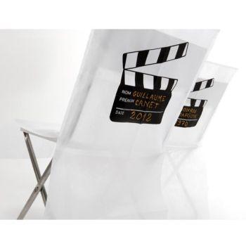 Stuhlhussen mit Kameraklappe zur Personalisierung. 2 Stück bei Shophaus 24