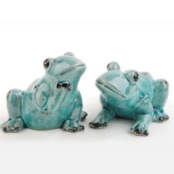 Haus Und Garten Frosch Figuren Lustige Frosche Sitzend
