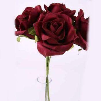 Kunstblumen Rosen f bei Shophaus 24