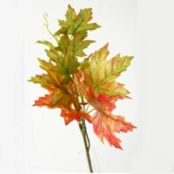 k nstlicher weinlaub busch pflanze in braun herbst. Black Bedroom Furniture Sets. Home Design Ideas