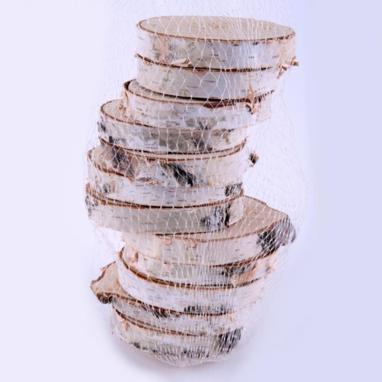 Naturholz Birkenscheiben Holzscheiben Zum Basteln Und Dekorieren