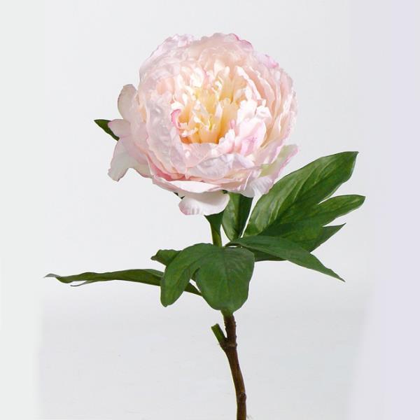 Kunstliche Pfingstrose Textilrose In Rosa Grosse Blute Mit 16cm