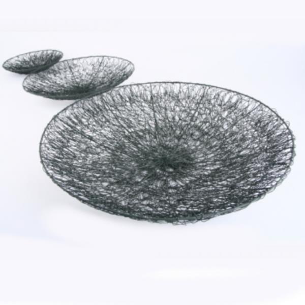 deko schalen aus draht g nstig im deko shop. Black Bedroom Furniture Sets. Home Design Ideas