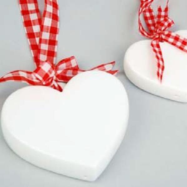 Porzellan Herz Dekoration Mit Herz Namenskarten Und Deko