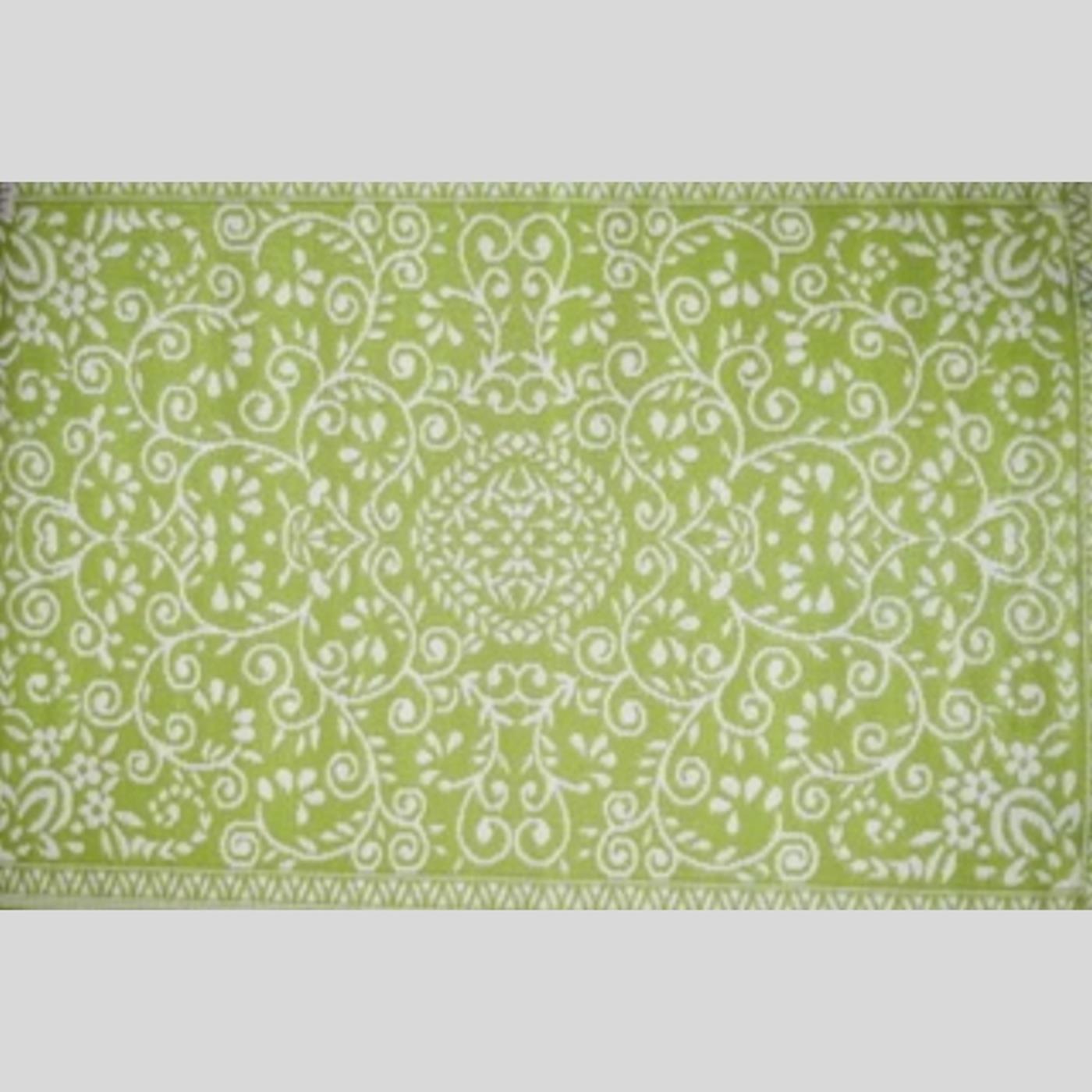 outdoor teppich gr n 90 cm x 180 cm. Black Bedroom Furniture Sets. Home Design Ideas