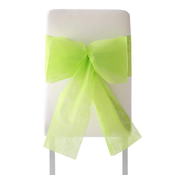 Stuhl Deko Für Hochzeit Grüne Stuhl Schleifen 10 Stück