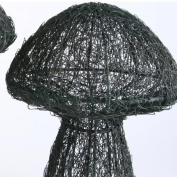Deko pilz draht herbstdeko pilz filigran 30cm for Dekoartikel herbst gunstig