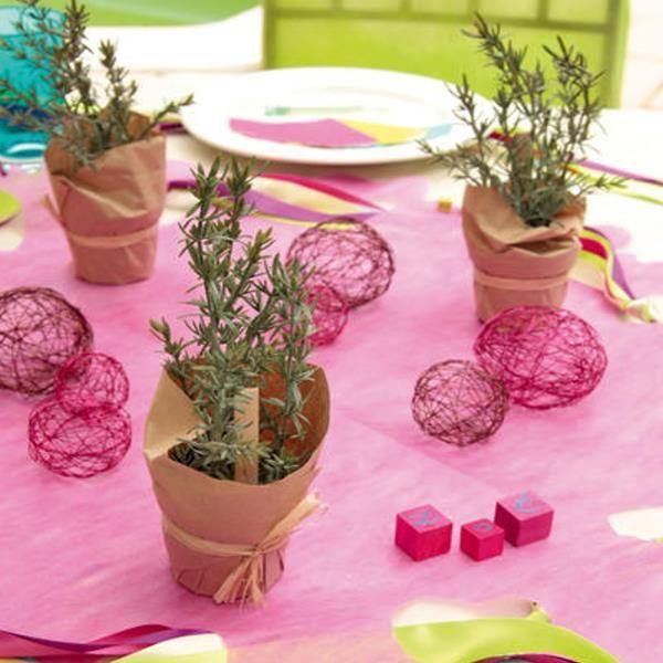 Kunstliche thymian krauterpflanze tisch und kuchendekoration for Küchendekoration